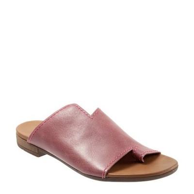ブエノ レディース サンダル シューズ Tulla Toe Post Leather Slide Sandals