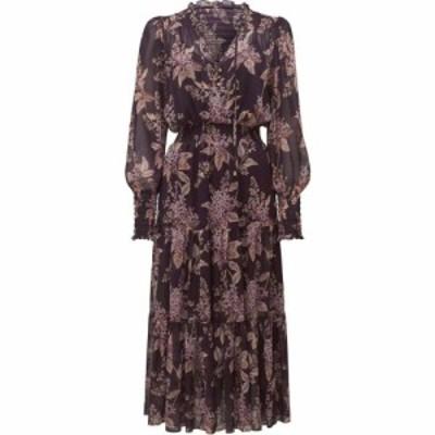 フォーエバーニュー Forever New レディース ワンピース ティアードドレス ワンピース・ドレス Violet Tiered Maxi Dress PLUM
