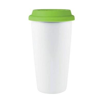 Custom 16 oz Terra- Terra (White with Apple lid) - 72 PCS - $7.79/EA - Promotional Product with Your Logo/Bulk/Wholesale【並行輸入品