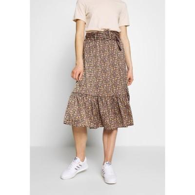 ヤス スカート レディース ボトムス YASSIERRA MIDI SKIRT  - A-line skirt - black/sierra