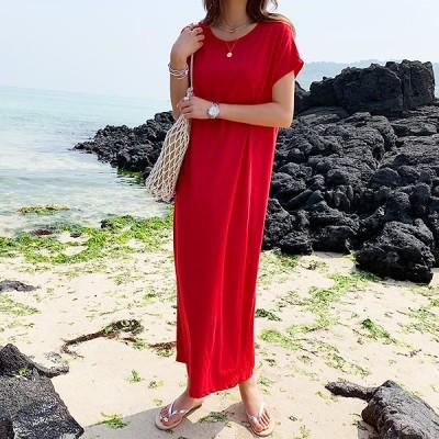 [送料無料]★韓国ファッション通販業界1位 『Naning9』★ラボミン巻き戻しワンピース/ おしゃれなシルエットのファッションコーデー提案!ハイクォリティー/韓国ファッション