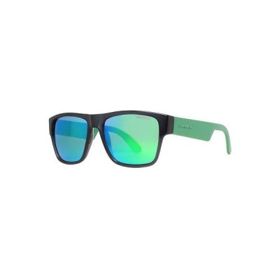 サングラス カレラ Carrera CA 5002/S B4Y/Z9 Clear グレー/グリーン ミラーed ユニセックス Wayfarer サングラス