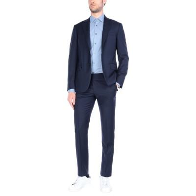 TOMBOLINI スーツ ダークブルー 56 ウール 100% スーツ