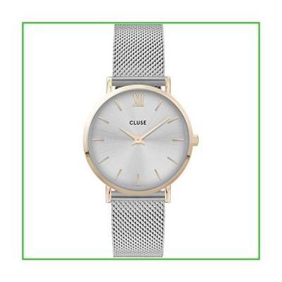 クルースCluse Women's Minuit 33mm Steel Bracelet & Case Quartz Silver-Tone Dial Analog Watch CW0101203015[並行輸入品|送料無料]