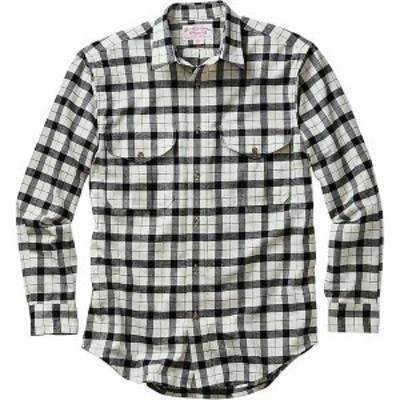 フィルソン メンズ シャツ トップス Filson Men's Alaskan Guide Shirt Cream / Black Plaid