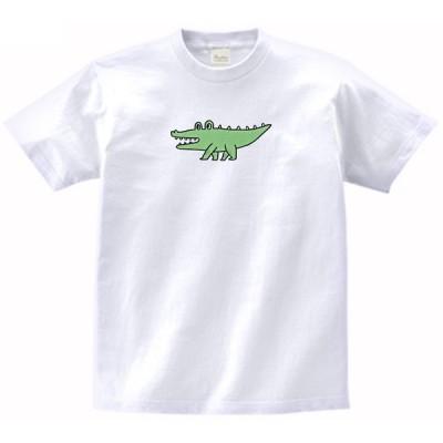 ワニ 動物・生き物 Tシャツ