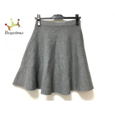 ジャスグリッティー JUSGLITTY スカート サイズ2 M レディース グレー     スペシャル特価 20200424