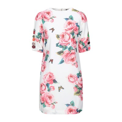 NO SECRETS ミニワンピース&ドレス ホワイト 48 ポリエステル 100% ミニワンピース&ドレス