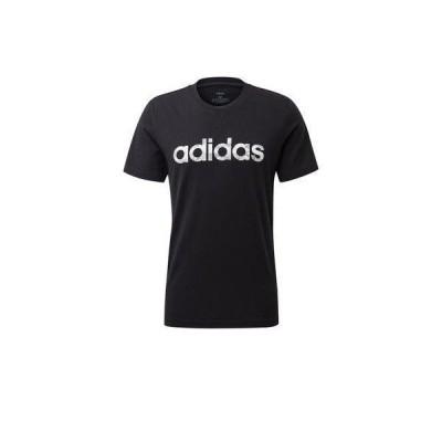 アディダス adidas カモ リニア Tシャツ [Camo Linear Tee] (ブラック)