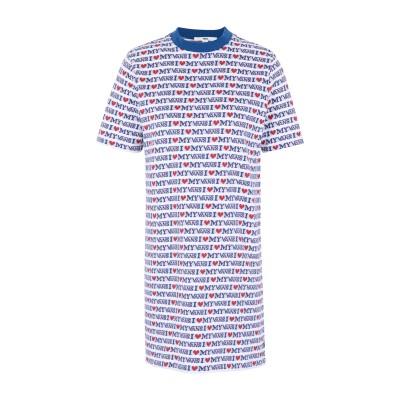 ヴァンズ VANS ミニワンピース&ドレス ホワイト XS コットン 100% ミニワンピース&ドレス