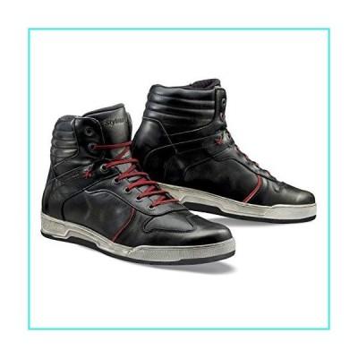 【新品】Stylmartin Adult Iron Urban Line Vintage Sneakers (Black, Size: US-11, EU-44)(並行輸入品)