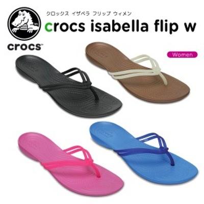 【送料無料対象外】クロックス(crocs) クロックス イザベラ フリップ ウィメン レディース/女性用/シューズ/サンダル[C/A]