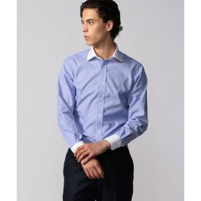 TOMORROWLAND / トゥモローランド 120/2コットンブロード クレリック ワイドカラー ドレスシャツ NEW WIDE-3