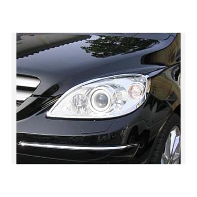 メルセデスベンツ Bクラス W245 ヘッドライトクロームリム