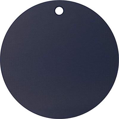 ヨシカワ(Yoshikawa) 栗原はるみ 調理用まな板 ネイビー/ホワイト 35cm まな板 (丸) HK11622ネイビー/ホワイトまな板 35cm