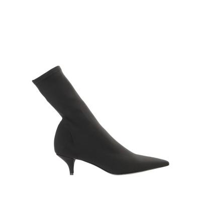 BIANCA DI ショートブーツ ブラック 39 紡績繊維 ショートブーツ