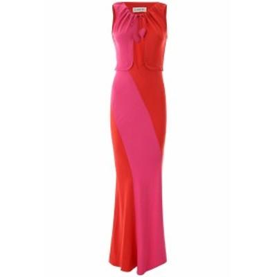 LANVIN/ランバン ドレス RED Lanvin two-coloured long dress レディース 春夏2020 RWDR366B3408 ik