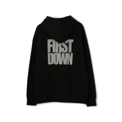 パーカー FIRSTDOWN/ファーストダウン/リフレクタープリントパーカー/Reflect HoodedSweat