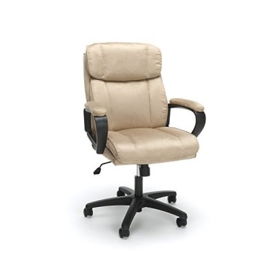 OFM ESS Collection Plush Microfiber Office Chair, in Tan (ESS-3082-TAN)