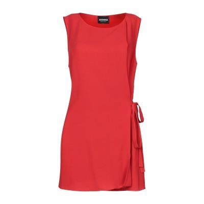 AISHHA ミニワンピース&ドレス レッド 44 ポリエステル 95% / ポリウレタン 5% ミニワンピース&ドレス