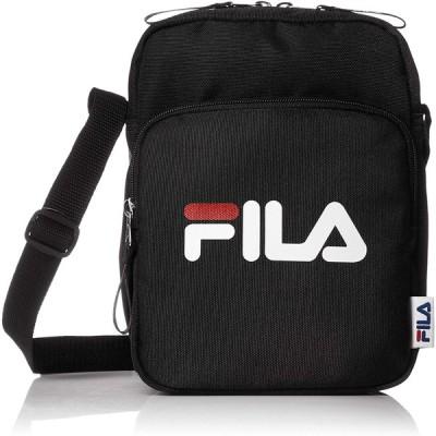 フィラ FIRA リメンバーシリーズ 縦型ミニショルダーバッグ ブラック 7562