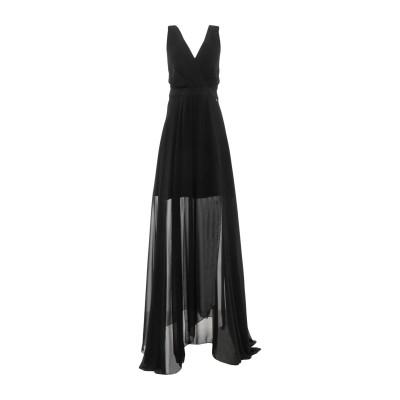 MARY D'ALOIA® ロングワンピース&ドレス ブラック 44 ポリエステル 89% / ポリウレタン 11% ロングワンピース&ドレス