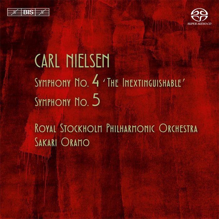 (BIS) 尼爾森 第4號 第5號交響曲 Nielsen Symphonies No 4 and 5 SACD2028