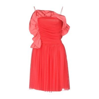 ピンコ PINKO ミニワンピース&ドレス コーラル 40 100% ポリエステル ミニワンピース&ドレス