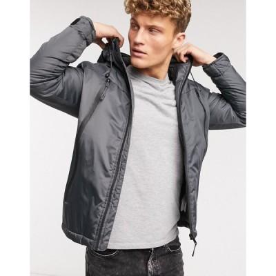 ディシデント ジャケット メンズ Dissident Light Year Jacket in Graphite Grey  エイソス ASOS sale グレー 灰色