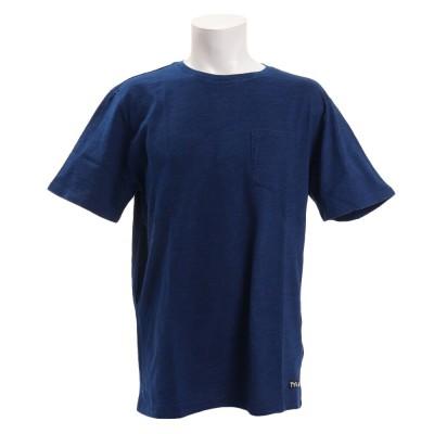 TYRウェアTシャツ 半袖 スラブ[SOLID] TSLVSD-19SRL NVYネイビー