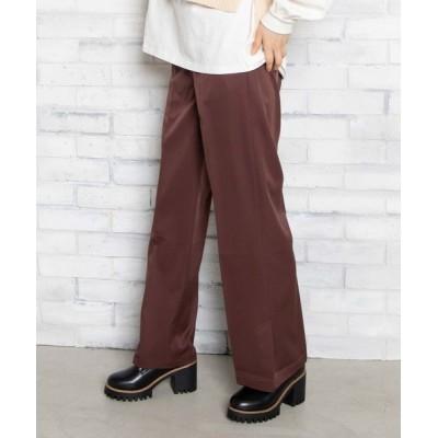 WEGO / WEGO/センタープレスカラーパンツ WOMEN パンツ > スラックス
