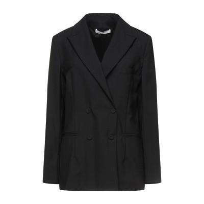 リビアナ コンティ LIVIANA CONTI テーラードジャケット ブラック 46 バージンウール 100% テーラードジャケット