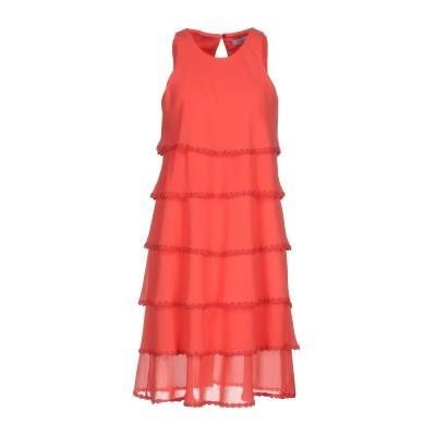ブルマリン BLUMARINE ミニワンピース&ドレス コーラル 44 100% ポリエステル ミニワンピース&ドレス