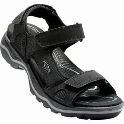 キーン サンダル Rialto 3 Point Sandals BLACK/NEUTRAL GRAY