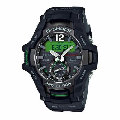 カシオ 腕時計 Casio G-Shock Gravity Master メンズ Green Black Resin Band Watch GRB100-1A3