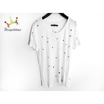 ラグアンドボーン rag&bone 半袖Tシャツ サイズS レディース 白×黒  スペシャル特価 20200605