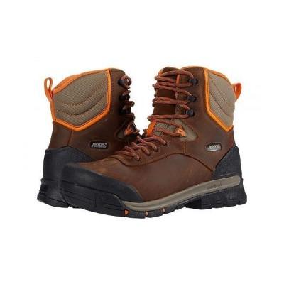 "Bogs ボグス メンズ 男性用 シューズ 靴 ブーツ ワークブーツ Bedrock 8"" Insulated Soft Toe Boot - Brown Multi"