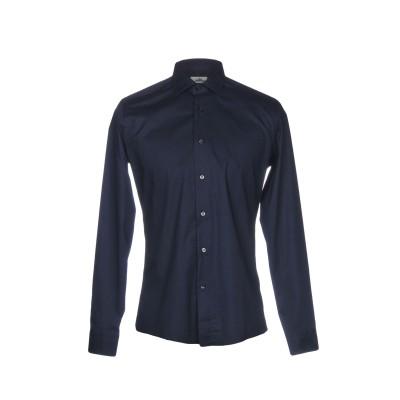ALEA シャツ ダークブルー 38 コットン 97% / ポリウレタン 3% シャツ