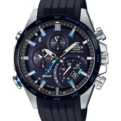 EQB-501XBR-1AJF EDIFICE エディフィス カシオ CASIO モバイルリンク ブラック ソーラー シルバー メンズ 腕時計 国内正規品 送料無料