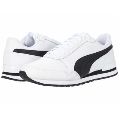 プーマ スニーカー シューズ メンズ St Runner V2 Full L Puma White/Puma Black