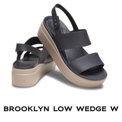【クロックス crocs レディース b】brooklyn low wedge /ブルックリン ロウ ウェッジ ウィメン