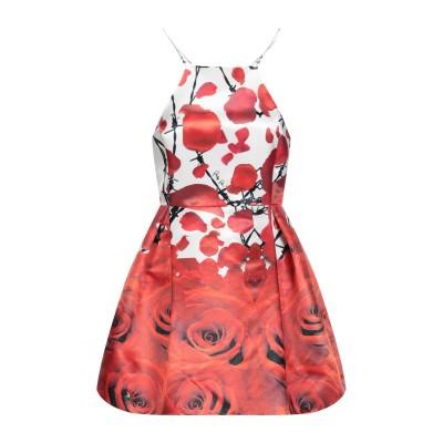PHILIPP PLEIN ミニワンピース&ドレス レッド M ナイロン 84% / シルク 16% ミニワンピース&ドレス