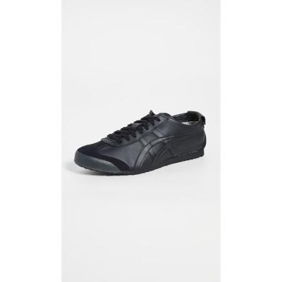 オニツカタイガー Onitsuka Tiger メンズ スニーカー シューズ・靴 Mexico 66 Sneakers Black/Black
