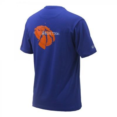 Beretta Broken Clay T-Shirt - BLUE