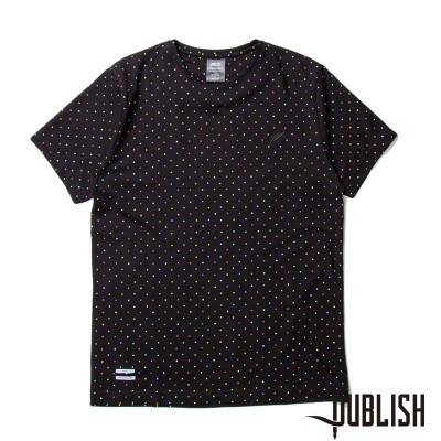 【Publish Brand/パブリッシュブランド】TOBIAH カットソーTシャツ / BLACK/MULTI(S)