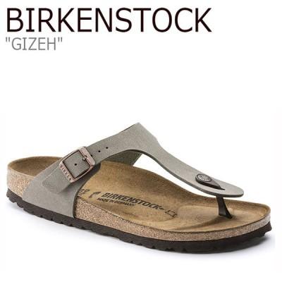 ビルケンシュトック サンダル BIRKENSTOCK レディース GIZEH ギゼ KHAKI カーキ FLBKAS2W01 43393 シューズ