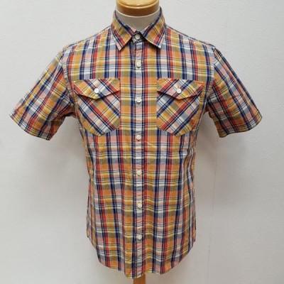 BURBERRY BLACK LABEL バーバリーブラックレーベル 半袖 シャツ、ブラウス Shirt, Blouse 両ポケット チェック柄 半袖 シャツ ホース刺繍 10011676