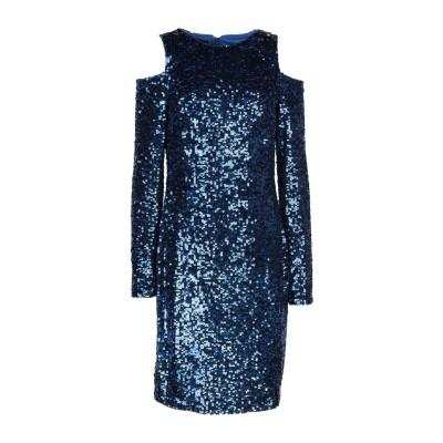 ピンコ PINKO ミニワンピース&ドレス ブルー 38 100% ナイロン ミニワンピース&ドレス
