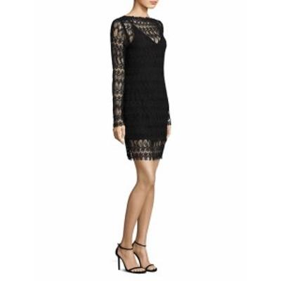 ニコラス レディース ワンピース Lace Panel Overlay Poet Sleeve Dress