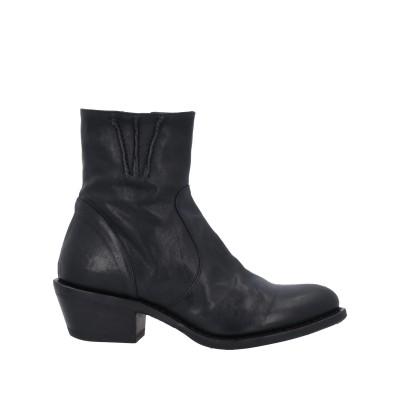 FIORENTINI+BAKER ショートブーツ ブラック 36 革 ショートブーツ